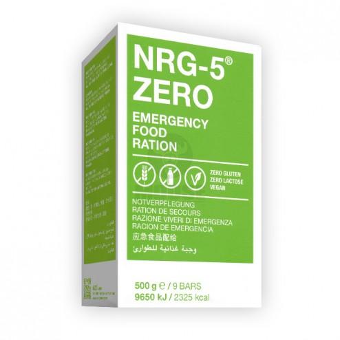 Glutén- és laktózmentes, vegán tartós élelmiszer - NRG-5 ZERO