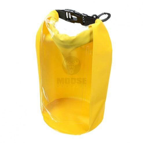 Vízhatlan tároló strandra, mobiltelefon tartó, zárható, 2.5 liter