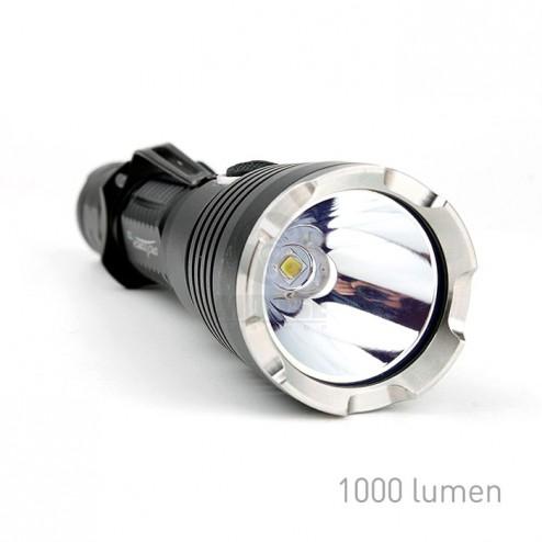 OrcaTorch Taktikai lámpa - T30 - nagy teljesítményű CREE XPL(V3) LED-del, ütés és vízálló kivitelben