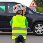 Láthatósági mellény gyerekeknek - fényvisszaverő csíkkal