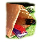 Kétszemélyes vészhelyzeti sátorfólia
