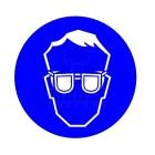 Biztonsági szemüveg használata kötelező